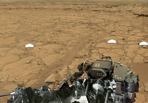 Curiosity marsjáró panorámakép
