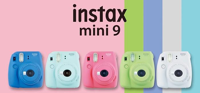 Instax mini 9 fényképezőgépek