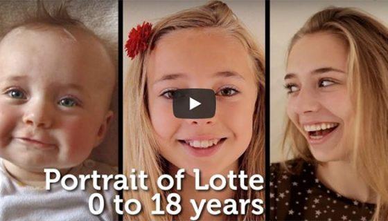 5 percben 18 év - Portré Lotte-ról