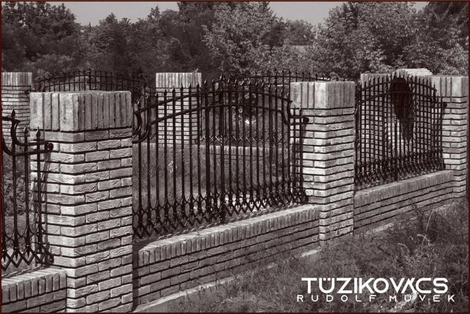 kovácsoltvas kerítés 1 modern